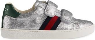 Gucci Children's Ace glitter sneaker
