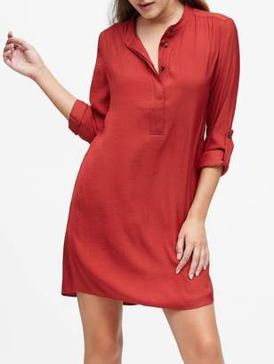 Banana Republic Utility Popover Shirtdress
