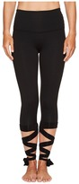 Beyond Yoga Just Your Stripe High Waisted Capris Women's Casual Pants