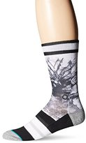 Stance Men's Gorge Gervin Splatter NBA Legends Crew Sock