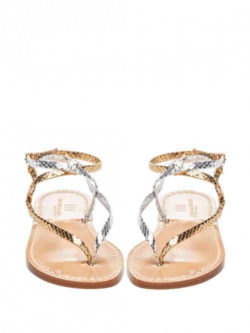 Thumbnail for your product : Emanuela Caruso Delhi Sandals