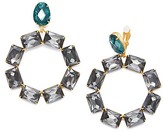 Tory Burch Stone Wreath Statement Drop Earring