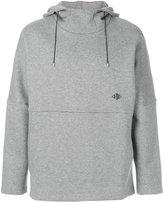 Oamc rear print hoodie