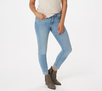 NYDJ Ami Skinny Ankle with Raw Cuff -Dreamstate