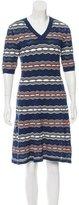 M Missoni Textured Knit Dress