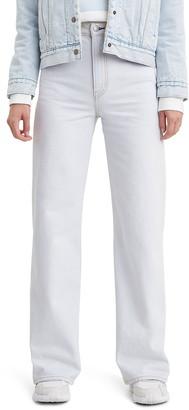 Levi's Ribcage High Waist Wide Leg Jeans