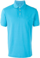 Hackett classic polo top - men - Cotton/Spandex/Elastane - S