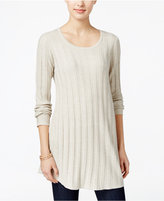 Style&Co. Style & Co. Petite Ribbed Sweater Tunic, Only at Macy's
