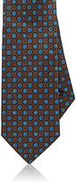 Drakes Drake's Men's Medallion Silk Necktie-BROWN