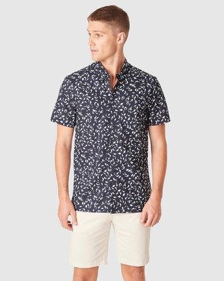 French Connection Men's Shirts & Polos - Fish Regular Fit Shirt - Size One Size, XS at The Iconic