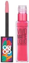 Maybelline Lip Gloss Vivid Matte 15 Electr Pink Wrap