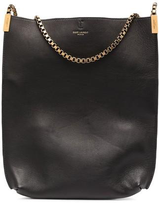 Saint Laurent Chain Strap Hobo Shoulder Bag
