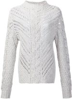 ADAM by Adam Lippes mock neck sweater