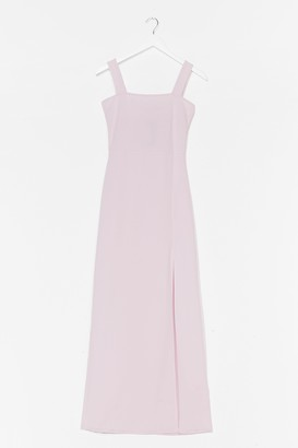 Nasty Gal Womens Square with Me Maxi Dress - Purple - 4