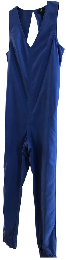 Thumbnail for your product : One Piece Blue Suede Jumpsuits