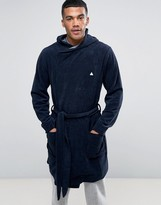 Asos Towelling Dressing Gown With Logo