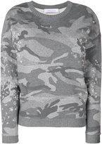 IRO camouflage print sweatshirt