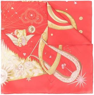 Hermes pre-owned Quintessence scarf