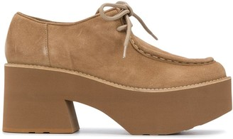 Paloma Barceló Platform Lace-Up Shoes