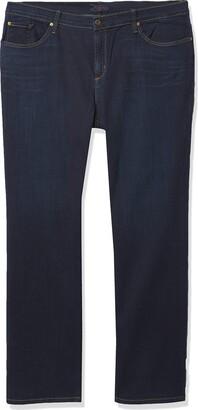 James Jeans Women's Plus-Size Hunter Z Straight Leg Jean in Kensington