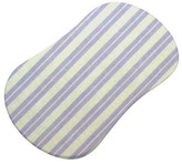 Sheetworld Dual Stripe Fitted Bassinet Sheet