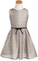 Isabel Garreton Girl's Mesh Fit & Flare Dress