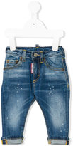 DSQUARED2 turn-up denim jeans