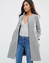 Traffic People Tiered Coat