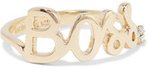 Alison Lou Boss 14-karat Gold Diamond Ring - 6