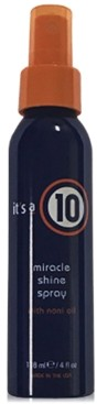It's A 10 Miracle Shine Spray, 4-oz, from Purebeauty Salon & Spa