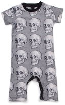 Nununu Baby Boy's MD Skull Playsuit