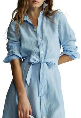 Polo Ralph Lauren Linen Shirtdress