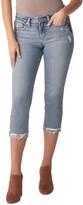 Thumbnail for your product : Silver Jeans Co. Suki Capri Jeans