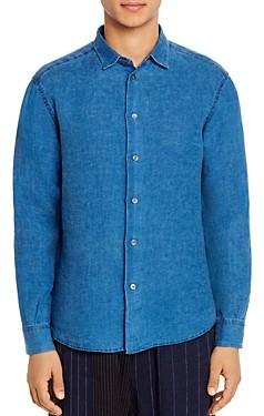 Barena Linen Regular Fit Shirt