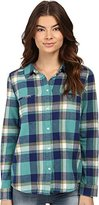 Roxy Juniors Campay Long Sleeve Flannel Shirt