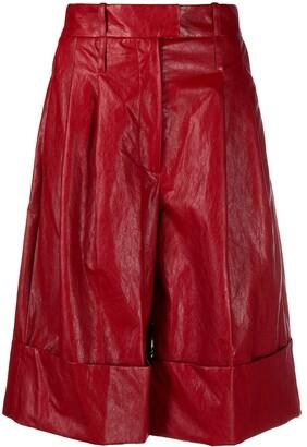 Jejia Knee-Length Textured Shorts