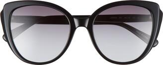 Longchamp 55mm Butterfly Sunglasses