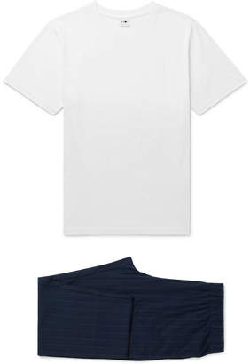 NN07 Sleepwell Cotton-Jersey Pyjama Set
