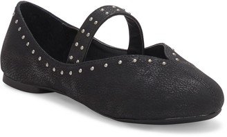 Lucky Brand Studded Mary Jane Flat