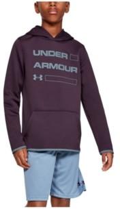 Under Armour Boys' Armour Fleece Wordmark Hoodie