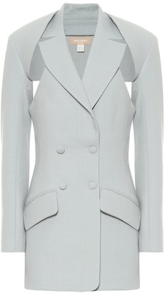 MATÉRIEL Wool-blend twill two-part blazer