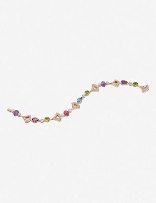 Bvlgari Divas Dream 18ct rose-gold and diamond bracelet