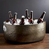 Crate & Barrel Bash Graphite Beverage Tub