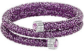 Swarovski Limited-Edition Heart Crystal Dust Coil Bracelet