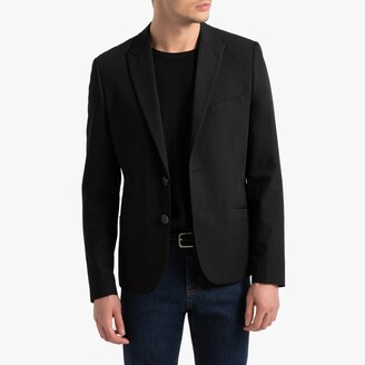 La Redoute Collections Slim Fit Suit Jacket with Single-Breasted Buttons