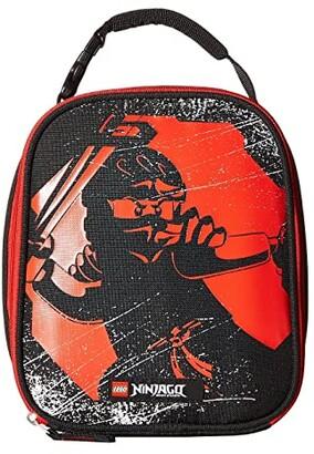 Lego Ninjago(r) Red Ninja Lunch Bag