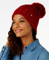 BCBGeneration Tucked Stitch Pom Beanie