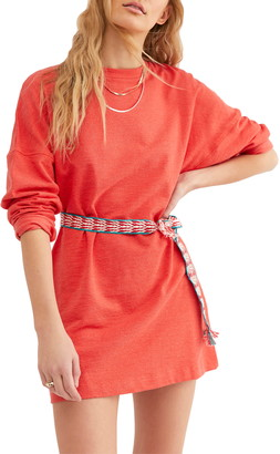 Free People Magnolia Dolman Sleeve Mini Dress