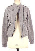JC de CASTELBAJAC Grey Cotton Jacket for Women