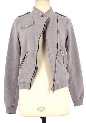 JC de CASTELBAJAC Grey Cotton Jacket for Women